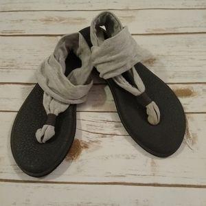 Sanuk Gray Yoga Sling 2